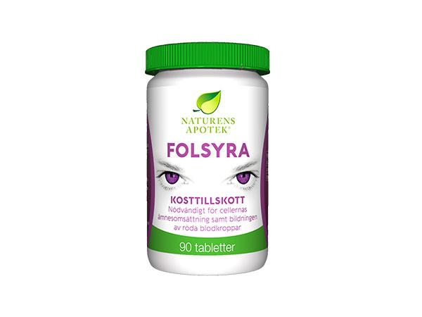 Folsyra hela graviditeten