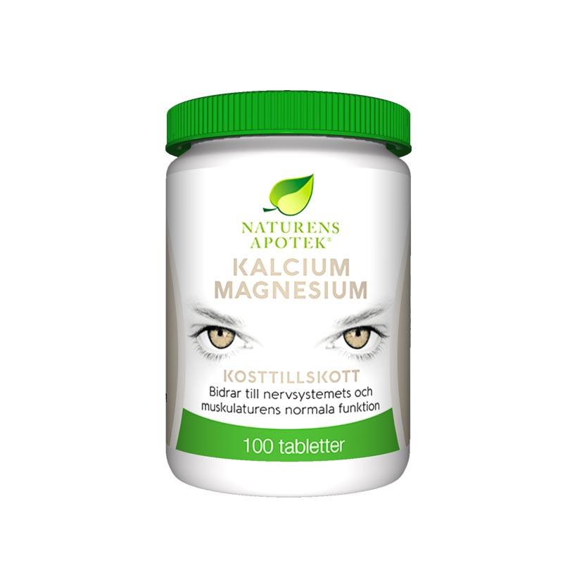 kalcium och magnesium tillskott